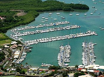 Marina du Marin en Martinique