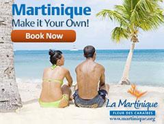 Réservez votre voyage en Martinique
